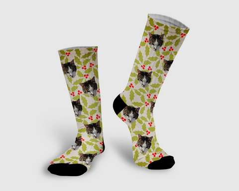Holiday Collection Socks - Pawpular Design