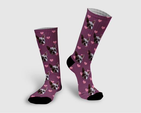 Heart Collection Socks - Pawpular Design