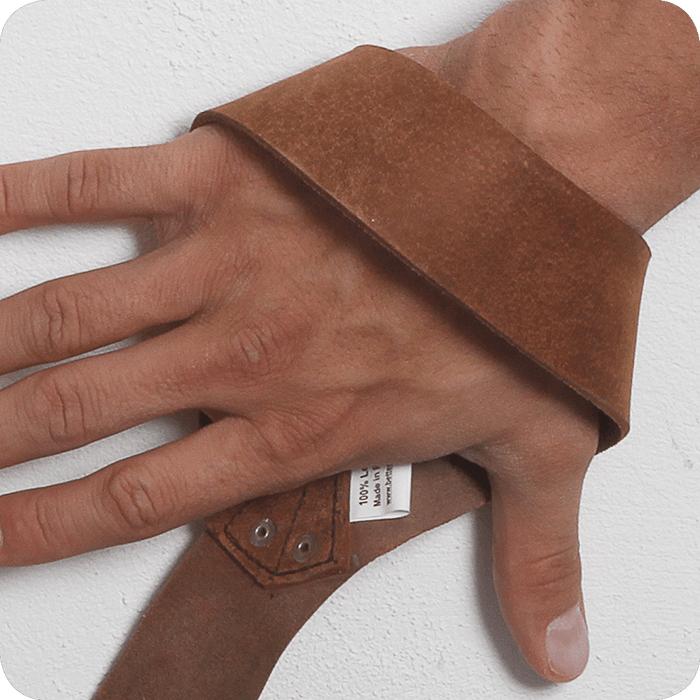 1.5 in. Leather Strap - Brown