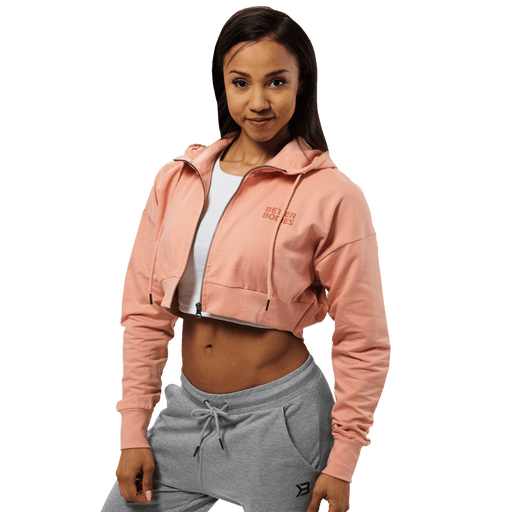 Astoria Cropped Hood - Peach Beige
