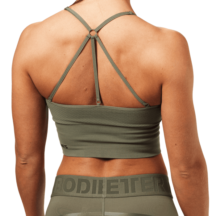 Astoria Seamless Bra - Washed Green