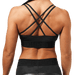 Astoria Sports Bra - Black Camo
