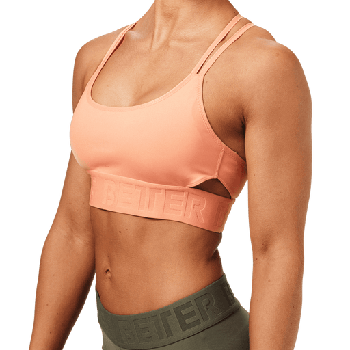 Astoria Sports Bra - Peach