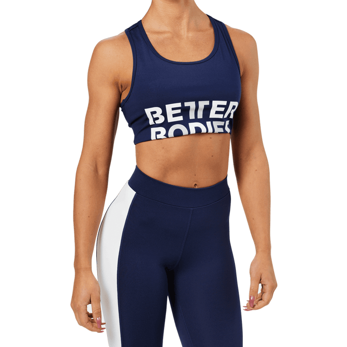 Bowery Sports Bra - Dark Navy