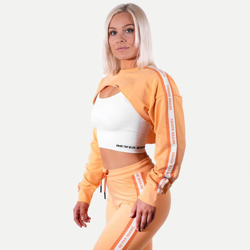 Chrystie Crop LS - Light Orange