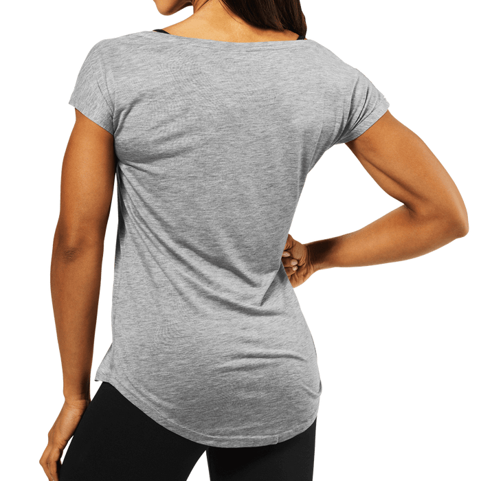 Gracie Tee - Grey Melange