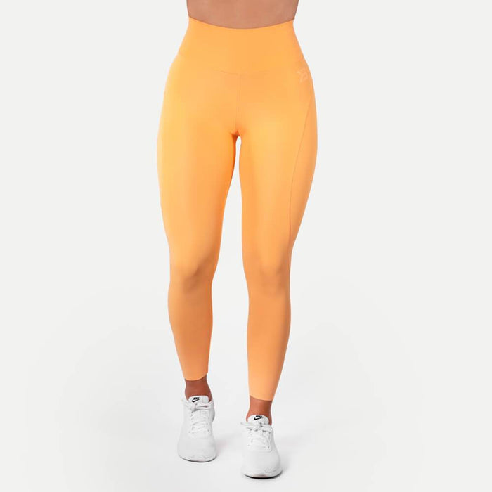 High Waist Leggings - Light Orange