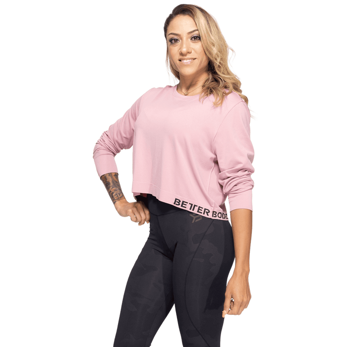 Rockaway Seamless Long Sleeve - Heather Pink