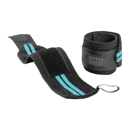 Womens Wrist Wraps - Aqua Blue