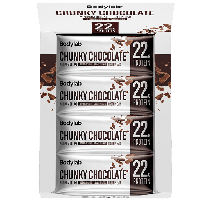 Minimum Deluxe Protein Bar - 12x65g.