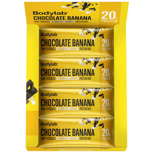 Protein Bar Chocolate Banana - 12x60g.