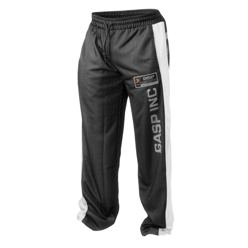 No1 Mesh Pant - Black/White