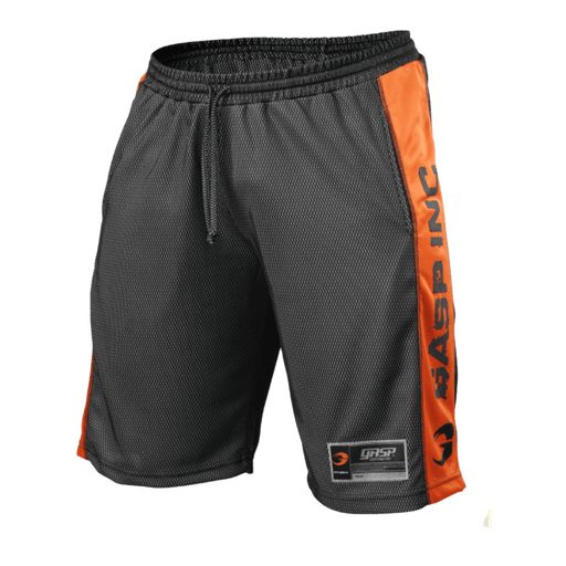 No1 Mesh Shorts - Black/Flame