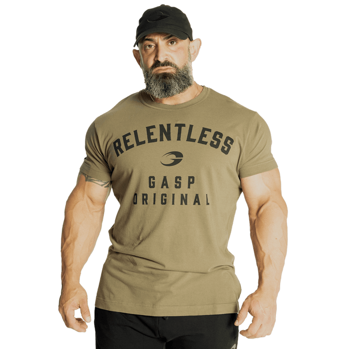 Relentless Skull Tee - Washed Green