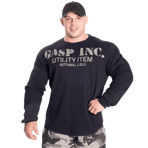 Thermal Gym Sweater - Asphalt