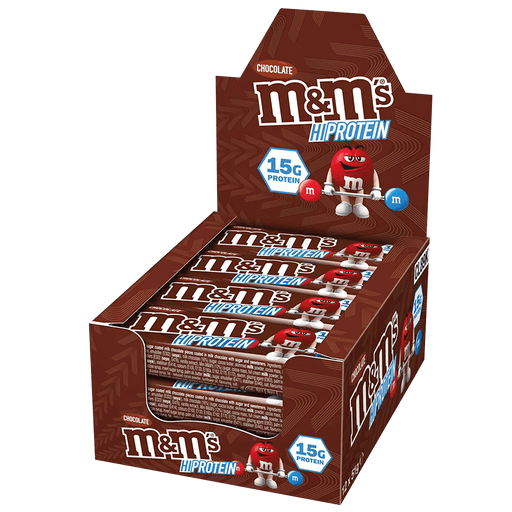 M&M's Protein Chocolate Bar - 12x51g.