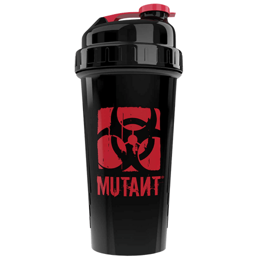 Mutant Nation Shaker 700ml. - Black/Red