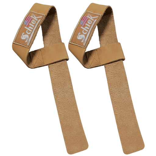 Leather Lifting Straps - Natural