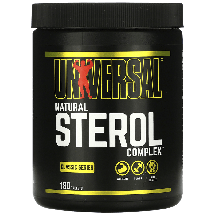 Natural Sterol Complex - 180 tabs