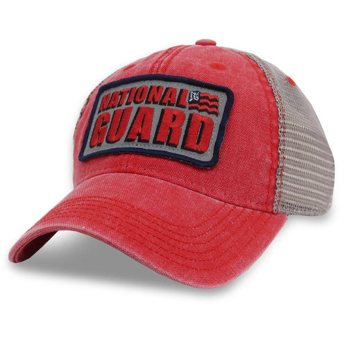 National Guard Dashboard Trucker Hat (Scarlet)