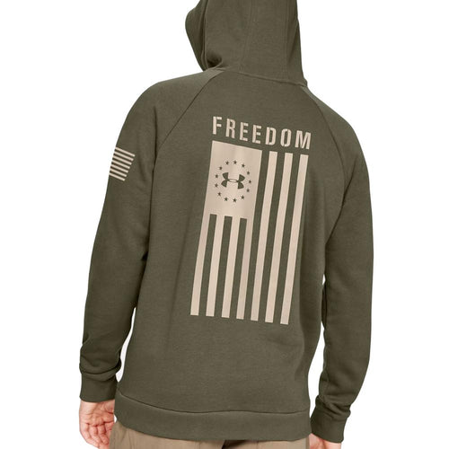 Under Armour Freedom Flag Rival PO Hood (OD Green)
