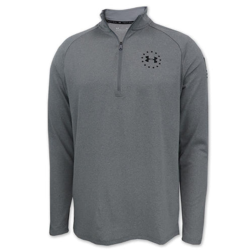 Under Armour Freedom Tech 2.0 1/2 Zip (Grey)