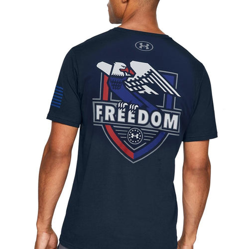 Under Armour Freedom USA Eagle T-Shirt (Navy)