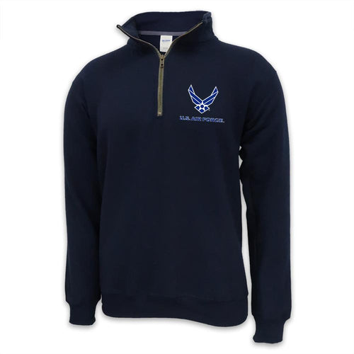 Air Force Wings Logo 1/4 Zip
