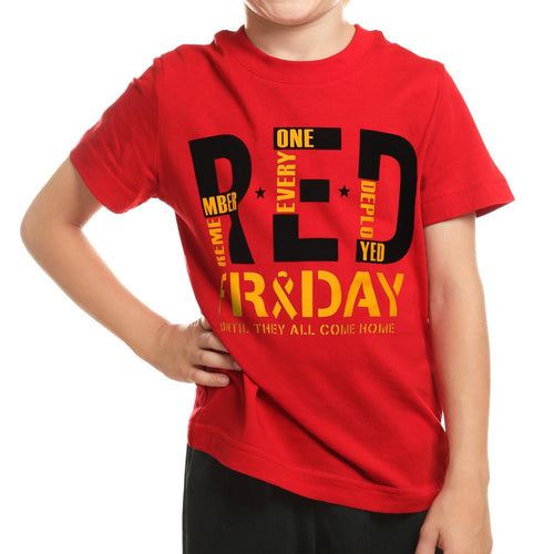 R.E.D. Friday Youth T-Shirt (Red)