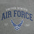 AIR FORCE WINGS EST. 1947 HOOD (GREY) 1