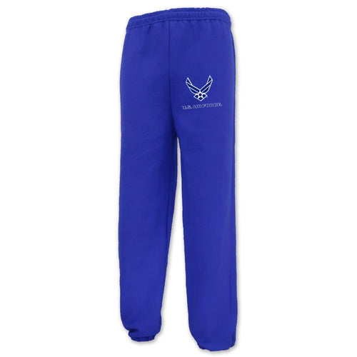AIR FORCE WINGS LOGO CLOSE BOTTOM SWEATPANT