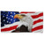 "AMERICAN FLAG EAGLE BEACH TOWEL (30""X60"") 1"