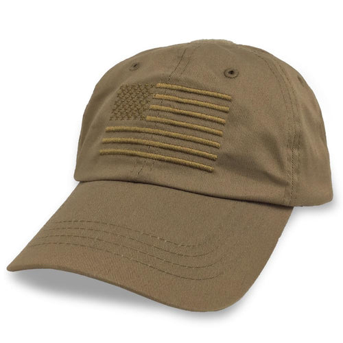 AMERICAN FLAG HAT (COYOTE BROWN) 5