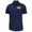 AMERICAN FLAG UNDER ARMOUR PERFORMANCE POLO (NAVY)