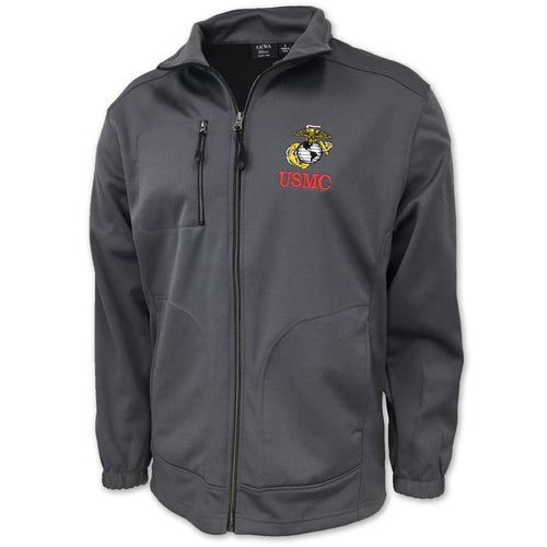 MARINES FULL ZIP (CHARCOAL)