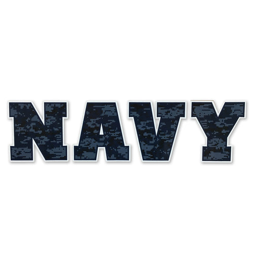 NAVY CAMO DECAL 1