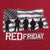 RED FRIDAY USA FLAG T-SHIRT (CARDINAL)
