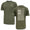 UNDER ARMOUR FREEDOM FLAG T-SHIRT (OD GREEN) 2