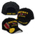 WORLD WAR II VETERAN MEDAL HAT (BLACK) 3