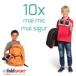 mifold sport – the luxury grab and go booster