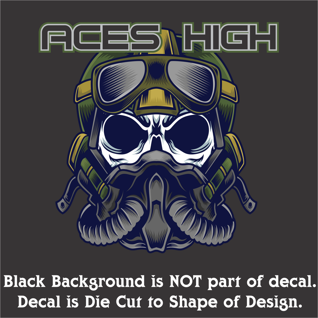 Aces High Decal (4