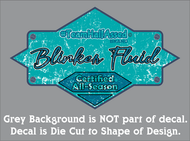Blinker Fluid Decal (3 Sizes)