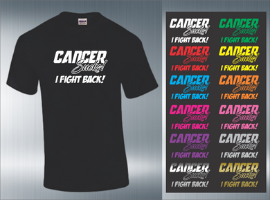 Cancer Sucks! T-Shirts 12 Colors