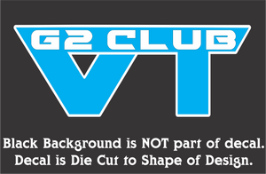 VTG2 Club Decals