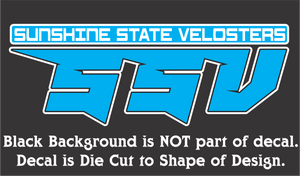 Official Sunshine State Velosters Decal