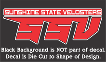 Load image into Gallery viewer, Official Sunshine State Velosters Decal
