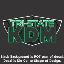 Load image into Gallery viewer, Tri-State KDM Decals