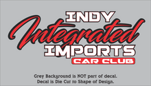 Load image into Gallery viewer, Indy Integrated Imports Car Club Decals
