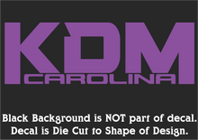 Load image into Gallery viewer, Official KDM Carolina Decals