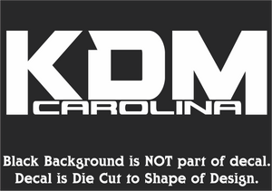 Official KDM Carolina Decals